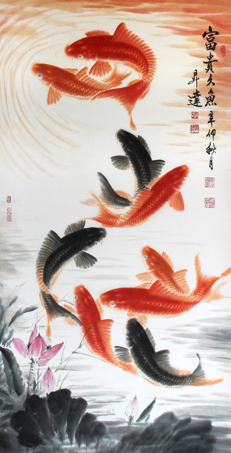 周升达,中国画院国画组长,中国书画研究会理事,国家一级美术师。 周先生是中国当代画坛画鱼的名家,他的鱼画具有极高的欣赏和收藏价值。 周先生,1953年出生于北京,自幼喜习绘画。1977年考入中国画院,专事绘画工作。1981年作品鱼跃图参加北京市工笔重彩国画展获二等奖;鱼水 情深参加北京群众美展获一等奖;富贵久鱼参加世界美术巡回展并获二等奖偶并被国家收藏。1985年后,在北京,天津,安徽,上海等美术出版社发表作 品百余幅,并多次赴美国,日本,新加坡参加中国年画展,获得国际朋友的好评。周先生为人谦和