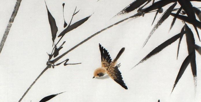 竹子编动物部骤图片