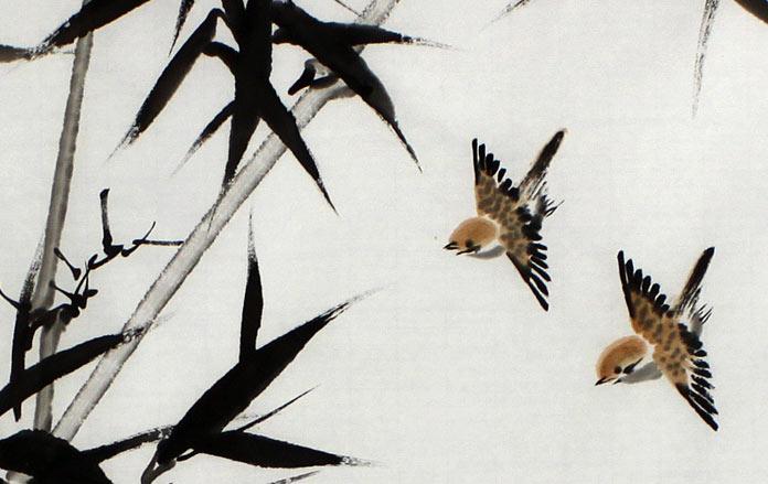首页 花鸟画 竹子画  作品发表于《国画家》,《中国书画报》,《中国图片