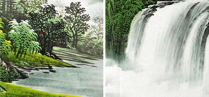 壁纸 风景 旅游 瀑布 山水 桌面 696_323