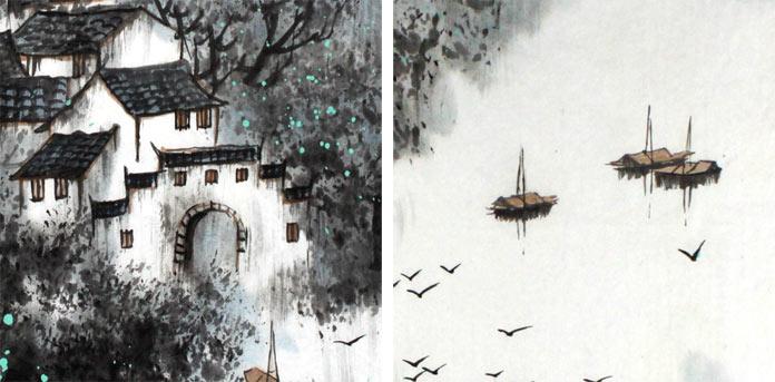 春天的梨树简笔画内容图片展示