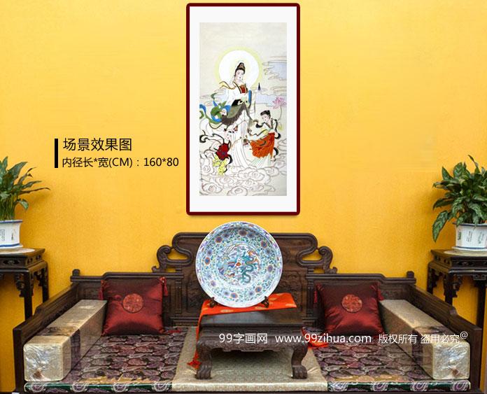 客厅供奉菩萨图片