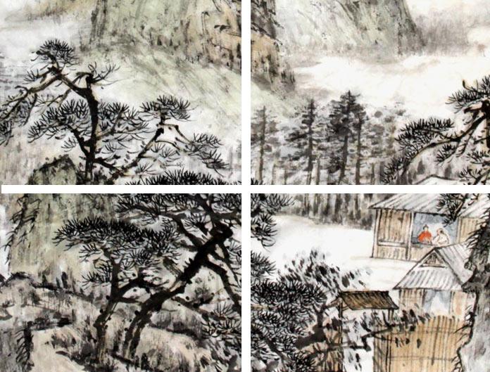 国家画院画家作品 - 写意山水画 - 99字画网