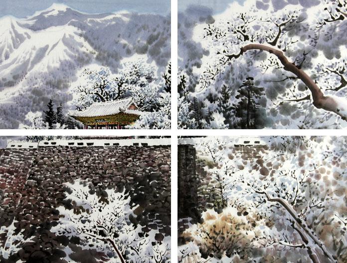 朝鲜画的装饰与收藏价值图片