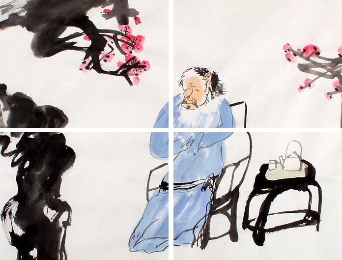 刘纪,1946年生,河南郑州人,曾长期在中等、高等院校从事美术教学,潜心艺术创作,性洒脱低调,不谙炒作。能诗、善书、会篆刻,花卉、山水兼工,尤精花鸟,作品风格古朴刚健,独树一帜。艺术作品曾受邀参加省、国家级书画展并获奖,其个人大型画展分别应邀在河南省、市博物馆举办。许多作品流传于海内外或被政府部门和民间艺术机构收藏。刘纪的作品,古朴率真,笔线刚劲有力,酣畅淋漓,画风真诚洒脱,劲健朴茂,是难得的收藏佳作。现为民革中央画院专职画家,中国国画家协会理事,中国书画艺术委员会委员,享受政府特殊津贴专家。