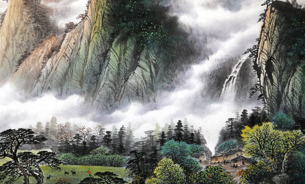 壁纸 风景 旅游 瀑布 山水 桌面 1000_605