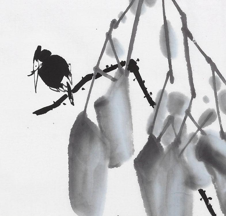 辽宁工美教授苗雨 四尺斗方《荷趣》师从吴冠中 - 画