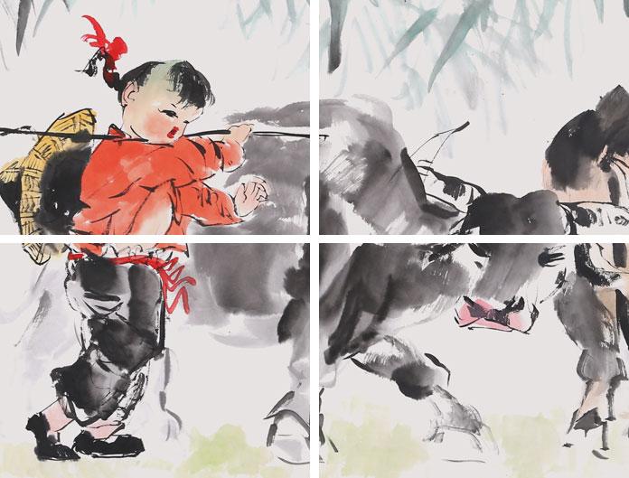 尹和平,1952年生于沈阳,现为中国书画艺术家协会、中国艺术品评估委员会会员,中国美术家协会辽宁会员,中国国际经典书画院客座教授。香港《中国书画艺术研究院》会员。北京京门书画院院士。油画、国画都以农村乡土为创作题材,更以油画写实、国画写意画童趣鸡和牛为擅长,神形兼备。 范曾评价说:尹和平的画风用八个字来形容就是返璞归真,童趣十足。作品曾多次参加国内外大展并获奖,多数作品先后被北京收藏家协会、美国、台湾、泰国、澳大利亚各界人士收藏。在中国职业教育与企业发展高峰论坛慈善拍卖活动中,作品《大吉图》以265