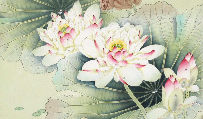 《春之韵》曾入选2006年《中国工笔画名家邀请展》并获优秀奖,作品图片
