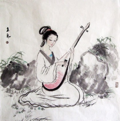 国画美女 古代仕女图