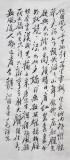 毛体四尺书法《沁园春·雪》