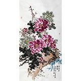 王芳四尺精品牡丹画