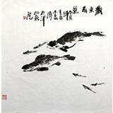 【已售】李明成画集入册原稿《欢乐有余》