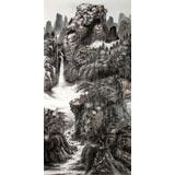 【已售】龙瑞工作室画家宁全喜四尺最新博彩大全《山居图》