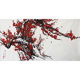 朝鲜一级画家李明哲《春》
