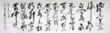 山西书协窦宝星小八尺主席诗词《卜算子·咏梅》