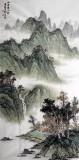 【已售】国家画院刘金河四尺精品《山青半入云》