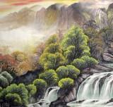 八骏图悬挂位置_办公室巨幅山水画 - 写意山水画 - 99字画网