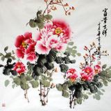 王宝钦四尺斗方《富贵吉祥》(询价)