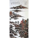 【已售】老庄四尺写意山水