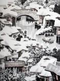 【已售】中国美协王石帆四尺精品山水《瑞雪江南》