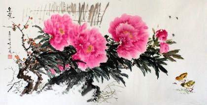 朝鲜一级画家 金久权《早春》