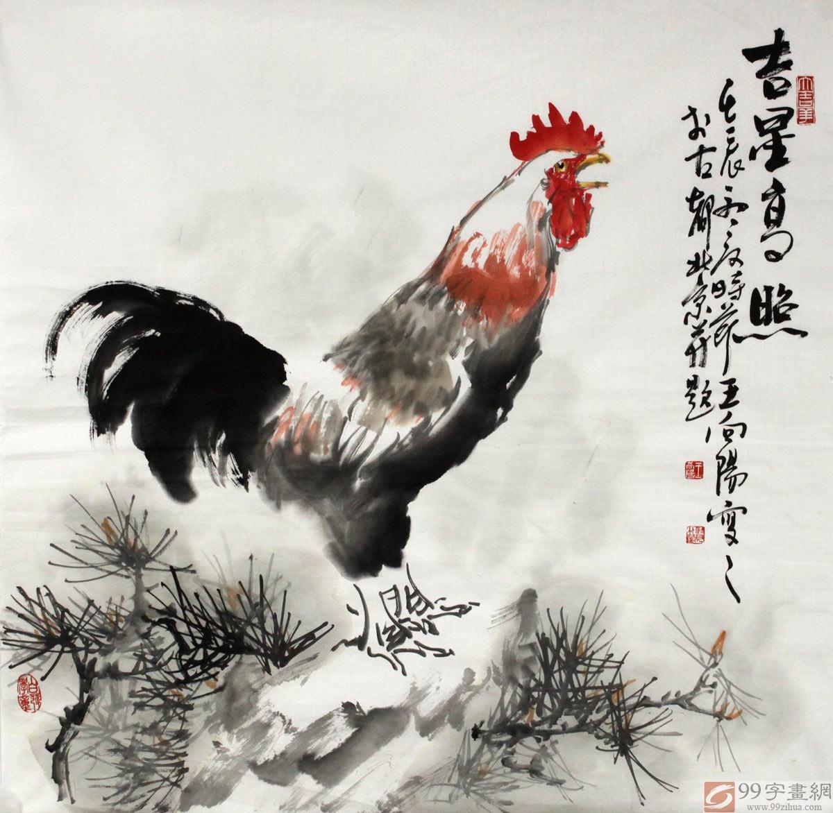 动物画尊崇自然,亲近自然,融入自然,将水墨的灵韵与心灵的诗情很好地