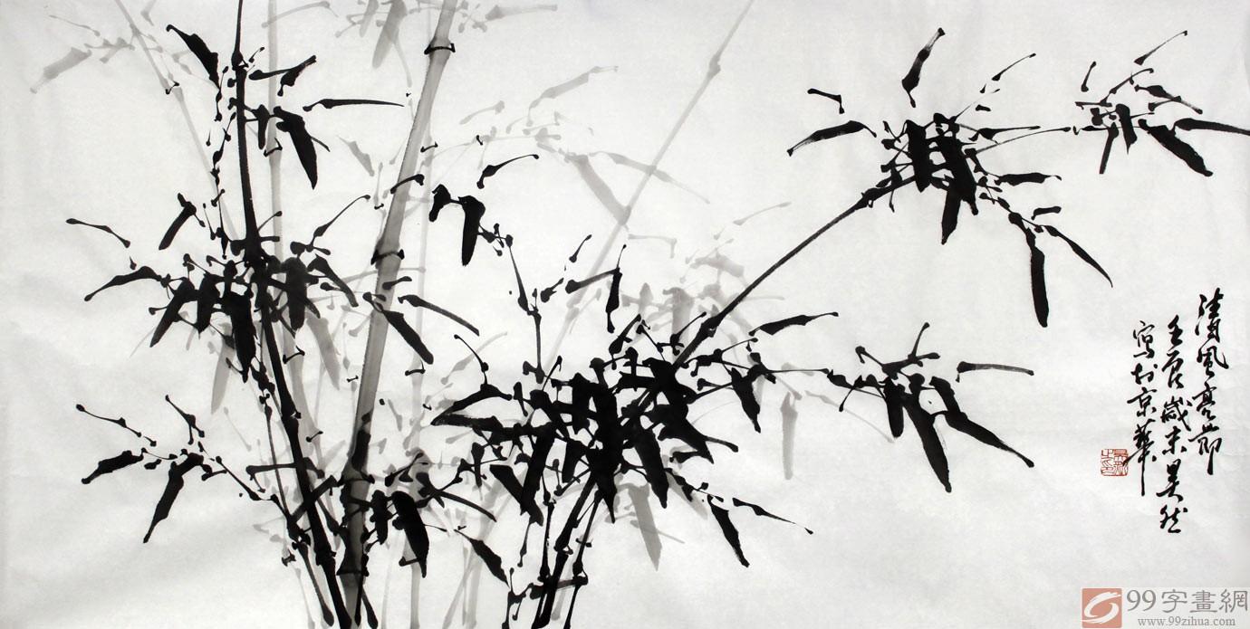 工笔画竹子的画法,工笔画竹子,儿童画竹子的画法_点 ...