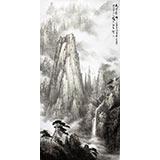 【已售】中国19461188伟德家协会副主席程冰石四尺《天下奇峰》(询价)