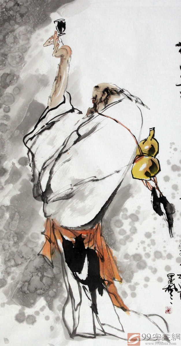 魏武双 ( 石雨)( 墨枫)。1955出生,现居北京。辽宁抚顺教育学院艺术系美术专业毕业,先后进修与鲁迅美术学院,中央美术学院国画系,三十年来潜心学习王盛烈,许勇,范曾,王西京,刘大为,宋雨桂等先生绘画,又深研徐渭,八大,石涛等古人之精华。国画人物,花鸟,粗狂苍拙,笔墨流畅准确,意趣盎然,一气呵成。 参加98世界美术大展[韩国],先后在香港,澳门,珠海,深圳举办画展澳门中信2007年拍卖公司拍卖作 品[合和二仙][秋吟图],北京国际远方拍卖公司拍卖作品[人寿图][钟馗图],2007年参加大连会展中心艺术博