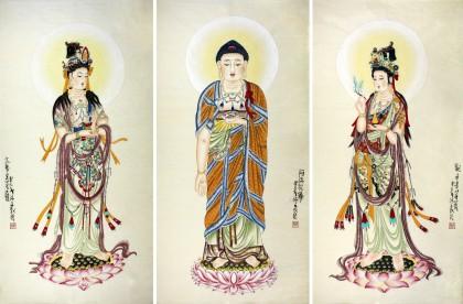 地藏佛教装饰花纹
