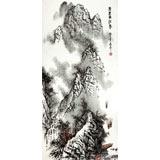 【已售】张春奇三尺《百里漓江秀》徐悲鸿纪念馆艺术中心理事