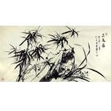 安徽美协雪叶四尺国画《三友图》