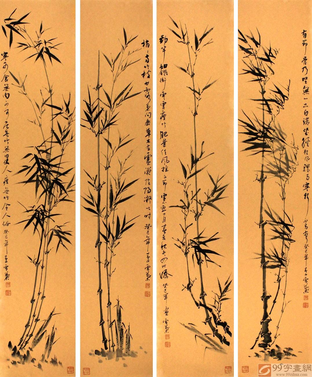 具有竹子品格的诗句