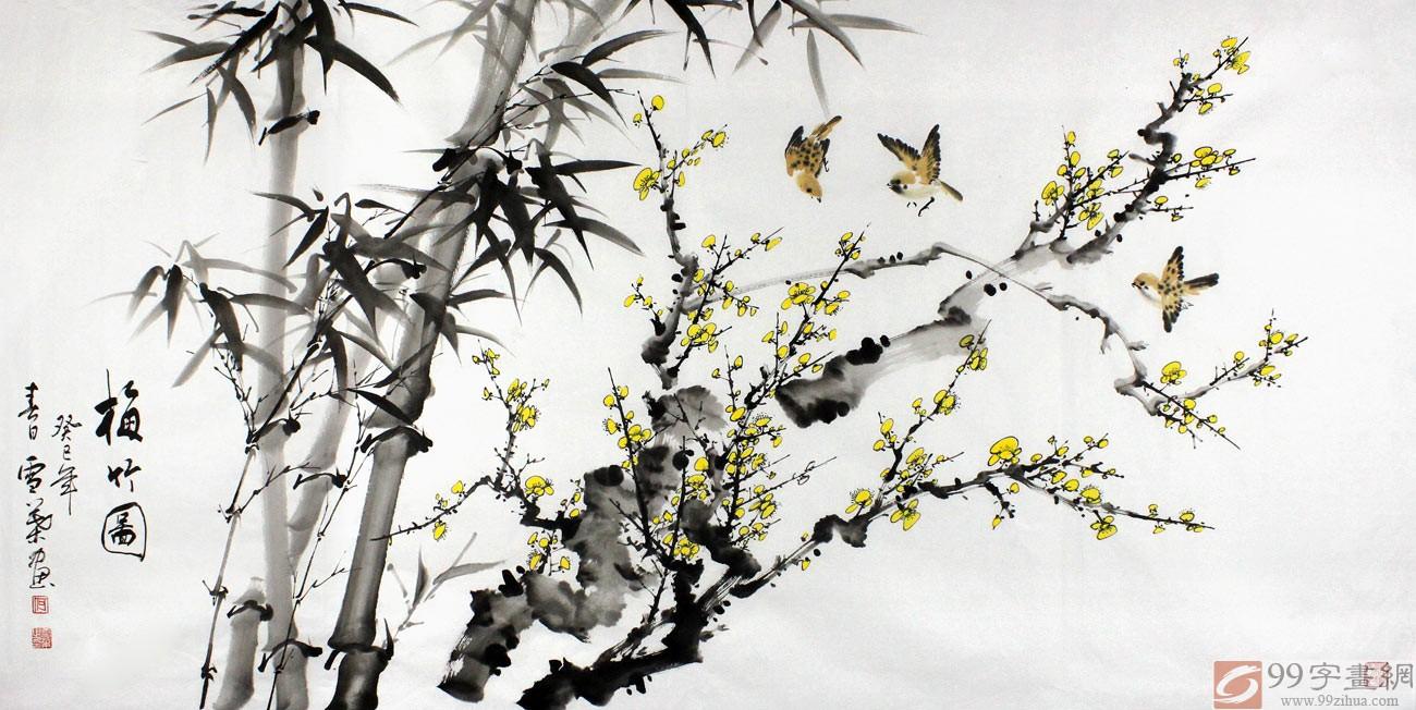 山水风景画图片 1024x590 - 338kb - jpeg 山水风景竹子 图片大全的