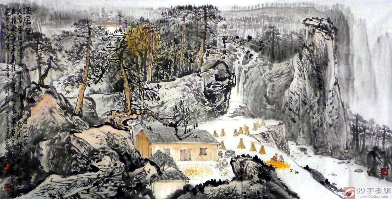 桂林写意山水画作品