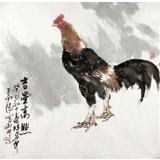 王向阳四尺斗方《吉星高照》 中国美术家协会会员(询价)