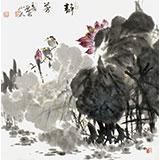 【已售】西蜀山人 四尺斗方《静芳》丨新春特惠 原售价1000