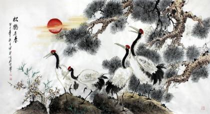 近年来,王向阳先生的水墨动物画广受好评,他的水墨动物画尊崇科学,亲