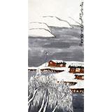 刘纪三尺北方雪景图《瑞雪丰年》
