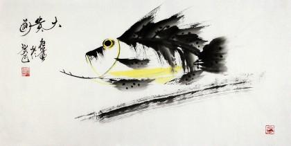 黑龙江民族书画院副院长齐根石三尺《大贵图》