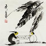 【已售】黑龙江民族书画院副院长齐根石三尺斗方