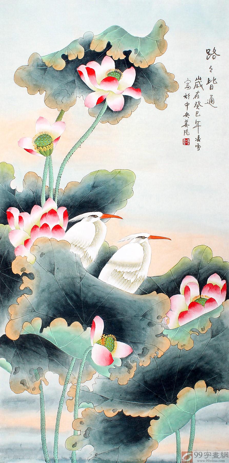 现为北京美协会员,北京著名工笔画画家.