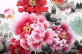 【已售】国家一级美术师王宝钦四尺《富贵祥和》(询价)
