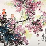 中国煤炭美术家协会理事 郑庆年《紫气东来》