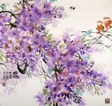 中国煤炭美术家协会理事 郑庆年《春趣》