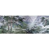 【已售】大尺寸朝鲜国画《北方的夏天》