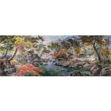 小八尺朝鲜国画《秋天的风景》