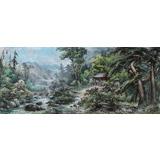 朝鲜画家 金林 作品《夏天》