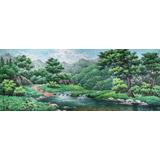 大尺寸朝鲜国画《我故乡的夏天》